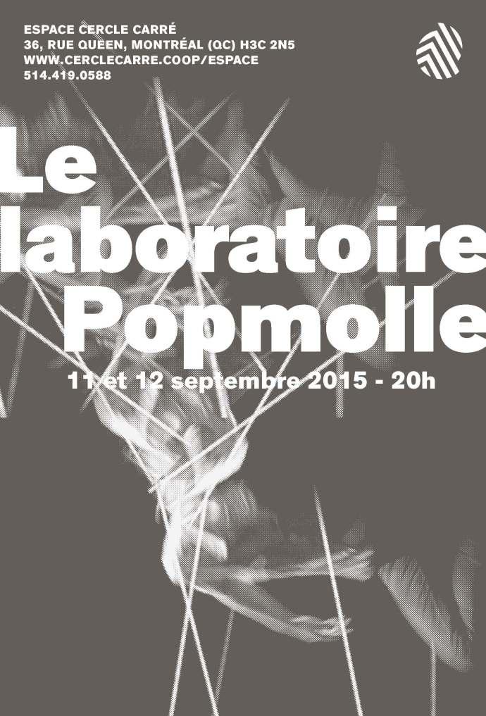 Laboratoire Popmolle | Affiche Espace Cercle Carré