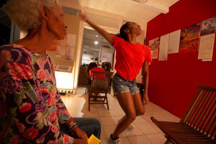 Lore - Musée cultures Guyanaises, Cayenne photo © Ronan Liétar / imazone avec Armony Kris Moore